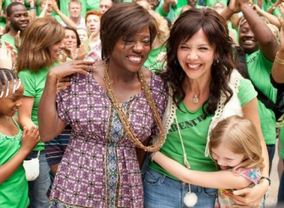 """Won't Back Down,"" the new film starring Viola Davis and Maggie Gyllenhaal, is an engaging..."