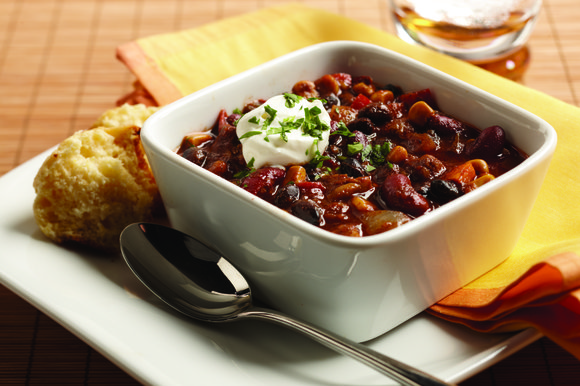 When there's a chill in the air, nothing warms better than a bowl of chili....