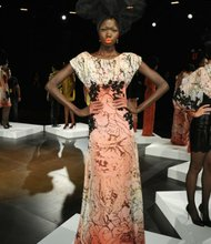David Tlale's dynamic designs hit Lincoln Center