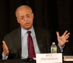 Bill Thompson wants to give voters a new direction