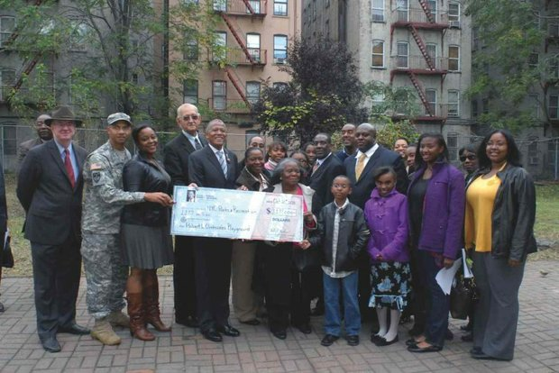Robert Clinkscales honored with a park in his name