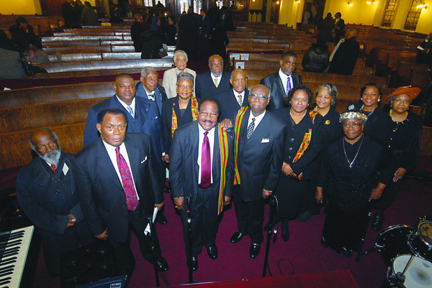 Baptist ministers  honor Dr. King