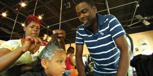 """Daddy, how come I don't have good hair?"" That's the question that prompted Chris Rock..."