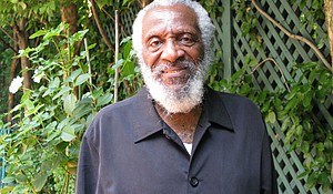 Dick Gregory, comedian and civil rights activist