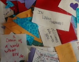 CCNY observes World AIDS Day with Memorial Quilt display