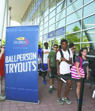 U.S. Open ballperson tryouts set for Thursday, June 20