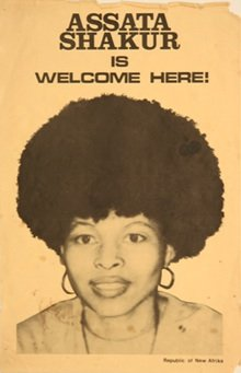 """Activists are keeping up the efforts to maintain the """"freedom"""" of political exile Assata Shakur..."""