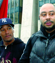 Burns and Santana speak on 'Central Park Five'