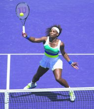Serena Williams comes from behind to win the Sony Open