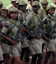 Eritrean army tanks foil freedom call by dissidents