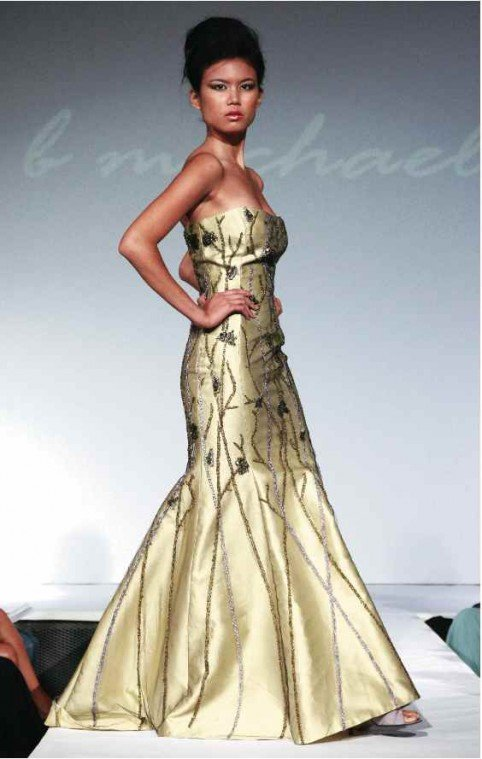 B. Michael designs Elizabeth Alexander's inaugural dress