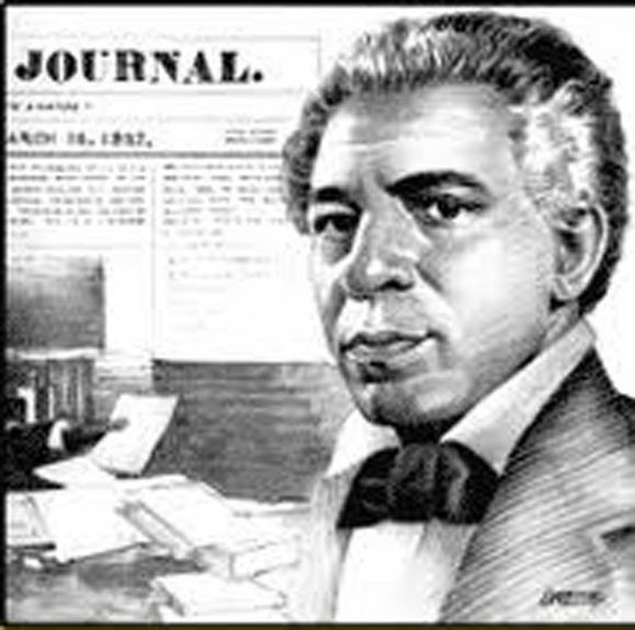 Today's page takes a look at the first Black newspaper, which was founded by one...