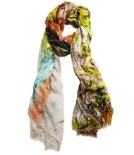 Spring's storytelling prints for scarves and dresses