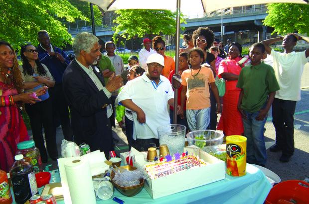 Haile King Rubie permanent exhibit at Harlem River Park