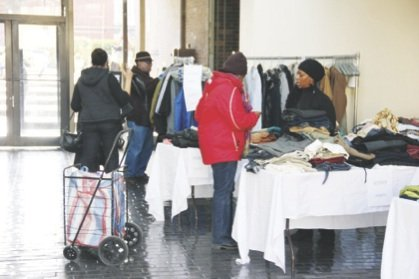 Community hails Transitions Foundation clothing giveaway