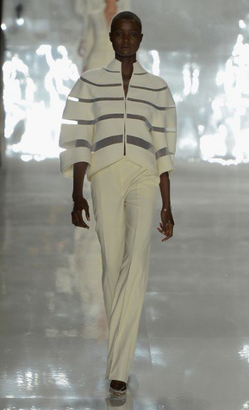 Chado Ralph Rucci's looks: Exuberant and elegant for spring '13