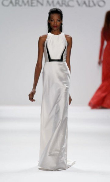 Along the way, Carmen Marc Valvo's designs have ended up on some of the world's...