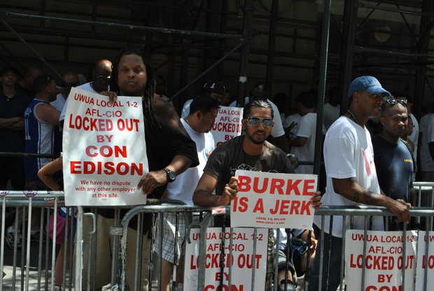 Con Edison fight with local Utility Workers of America continues