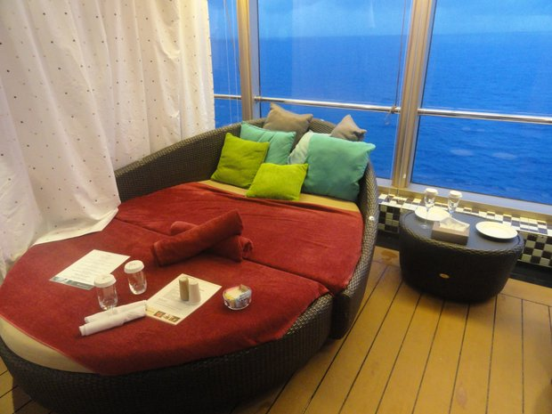On a Holland America cruise