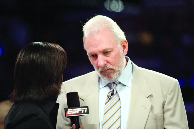 NBA PLAYOFFS: Spurs coach Gregg Popovich leading the chorus