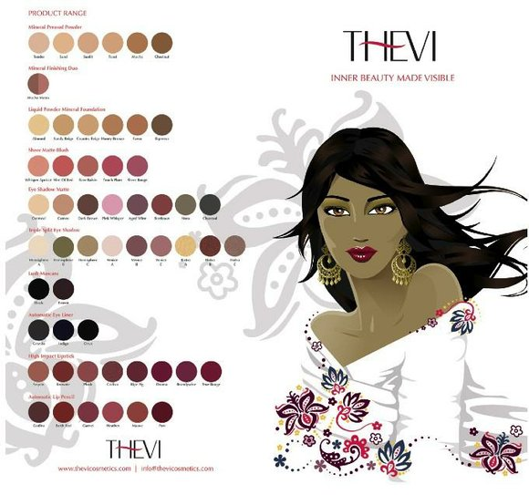 Blogs are buzzing about Thevi Cosmetics for women of color. This sleek, modern line celebrates...