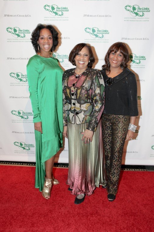 In a celebratory afternoon affair, the Metro-Manhattan Chapter of the Links Incorporated honored JPMorgan Chase...