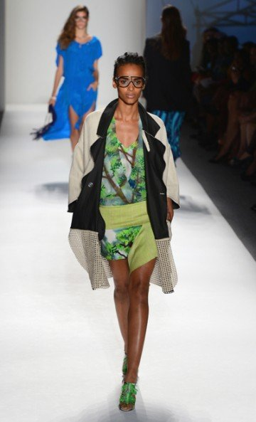 Tracy Reese: Pretty, colorful styles for spring 2013