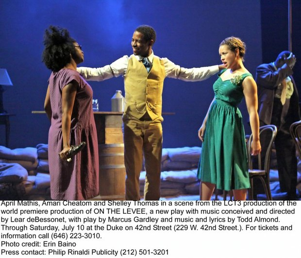 Casting Pearls:'On the Levee' lets loose on the Great Flood of 1927