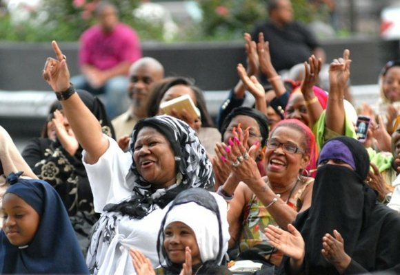 In honor of Eid ul-Fitr, state Sen. Bill Perkins of Harlem hosted the fifth annual...
