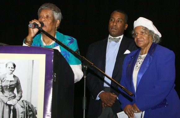 Brooklyn Council Member Al Vann was joined by several elected officials and honored guests at...
