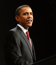 Obama tops Romney in two polls