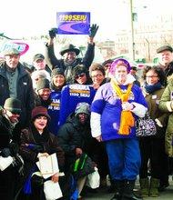 1199 members share joy of inauguration
