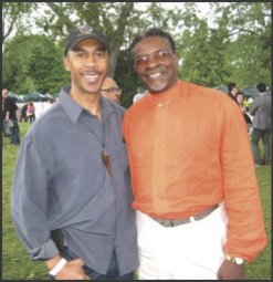 Keith David, Roy T. Anderson living their dreams