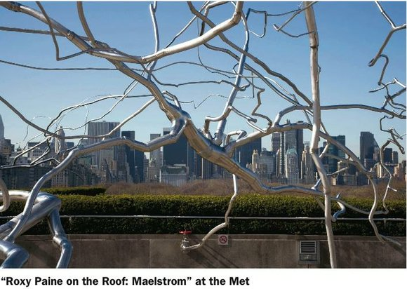 It's simply amazing! Conceptual artist Roxy Paine (American, b. 1966) has created a site-specific monumental...