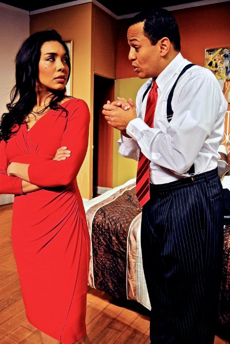 Engaging adult romcom at Billie Holiday Theatre