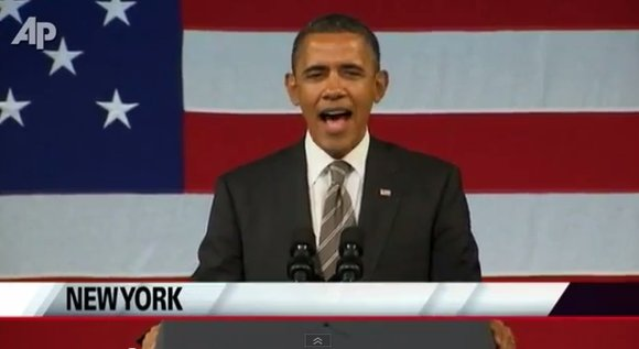 In his second visit to Harlem since being elected, President Barack Obama made his way...