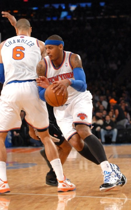 Carmelo Anthony is unquestionably one of the NBA's best players. Early in his career, he...