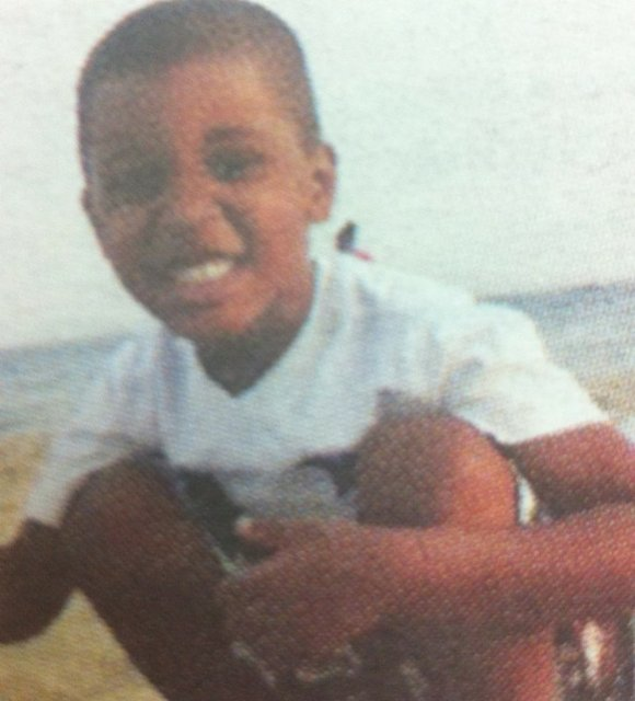 Hundreds wept at the vigil for 4-year-old Lloyd Morgan, who was shot and killed in...
