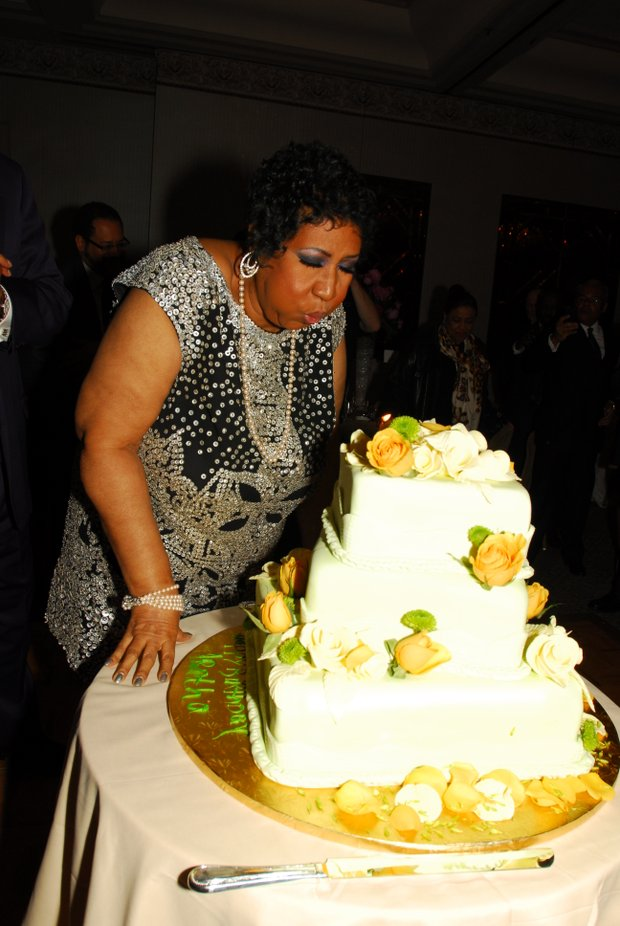 Queen of Soul celebrates birthday in style