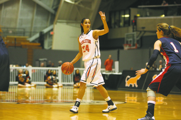 Princeton University women's basketball vs. Penn, Princeton, NJ, January 12, 2013.