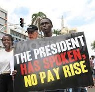 Kenyan lawmakers, defying president, award themselves a generous raise
