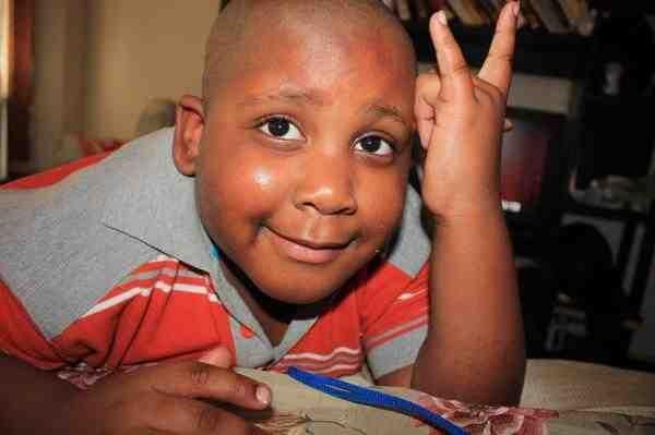 7 year old Julian King, taken from Jennifer Hudson's Myspace profile.