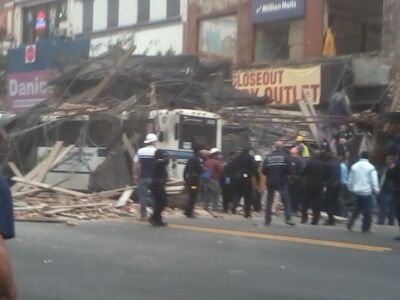 Building collapse raises questions about construction safety uptown