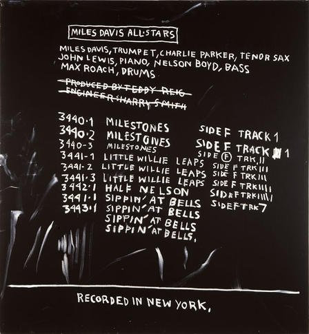 Major exhibition of Jean-Michel Basquiat's works