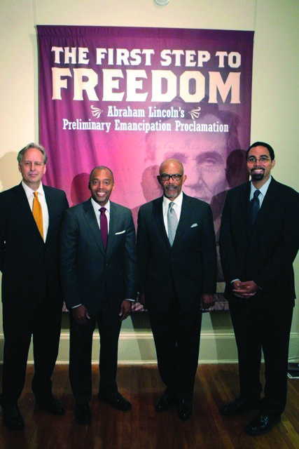 Celebrating the 150th anniversary of the Emancipation Proclamation