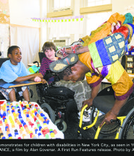 Sidiki Conde celebrates a walking living miracle