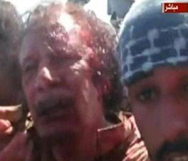 Libyan Leader's fall was 'a humiliating end for a tyrant'