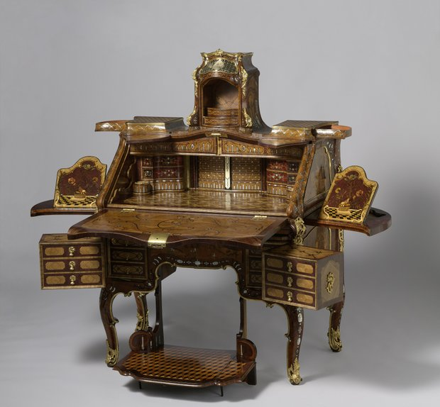 18th-century mechanical furniture at the Met