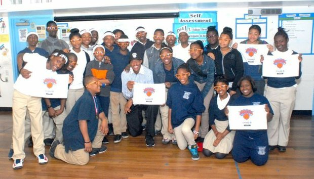 Former Knick Jerome Williams now a Youth Talk Ambassador
