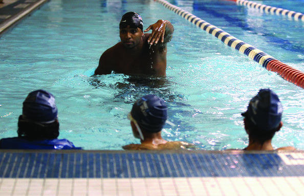 Cullen Jones, 2008 Olympian, swimming for more gold